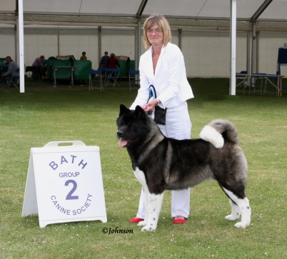 Seth winning Group 2 at Bath Champ Show!